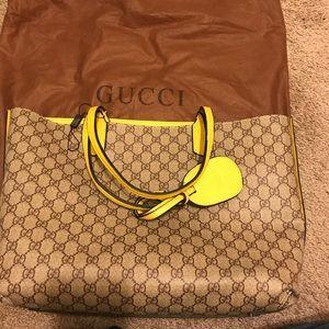 Gucci reversible tote